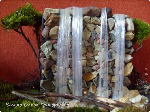 Поделки водопад своими руками мастер класс с пошаговым