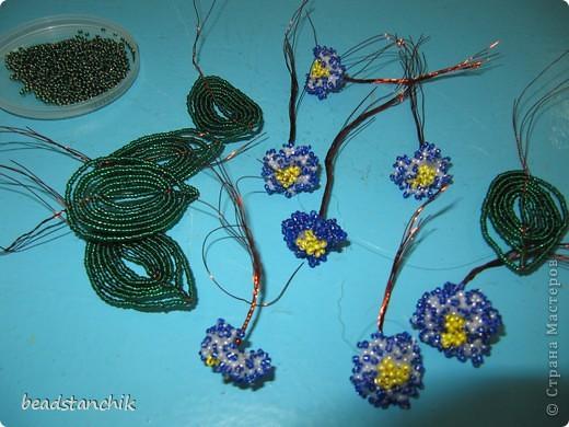 Моя работа посвящена Сенполии - чудесному комнатному растению! Любимый цветок, выполнен в технике бисероплетения.  фото 2