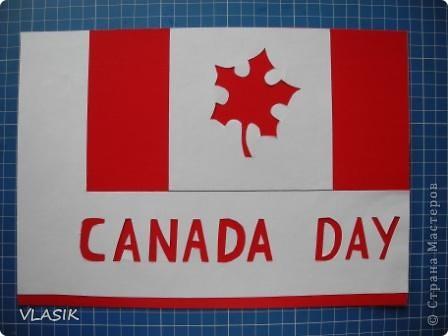 1 июля - День Канады. Я решила сделать флаг. фото 2