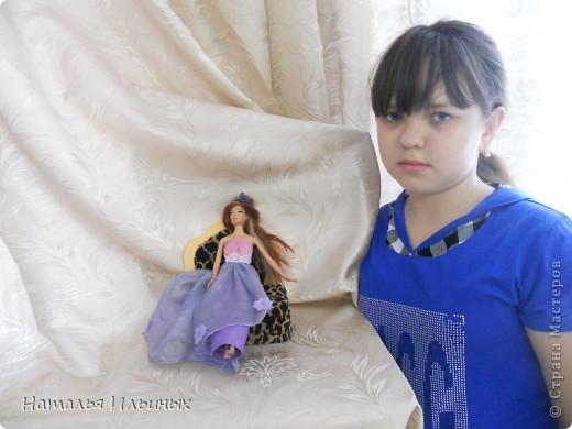 Все мы хотим побывать в волшебной сказке, хоть немножечко побыть принцессами. А ведь это так просто - надо одеть красивое платье и корону. Наряд для своей принцессы мы выбрали достойный - роскошный, но не тяжелый. Подобрали красивые ткани на манер восточных.  фото 4