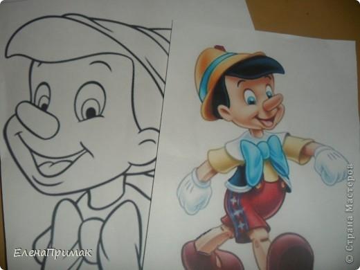 """""""День Пиноккио"""" Персонаж К.Коллоди - Пиноккио известен всем. Конечно для стран СНГ( или скорей всего Советского Союза ) больше известен персонаж А. Толстого- Буратино . фото 2"""