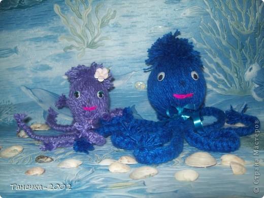 Веселые друзья осьминожки. фото 1