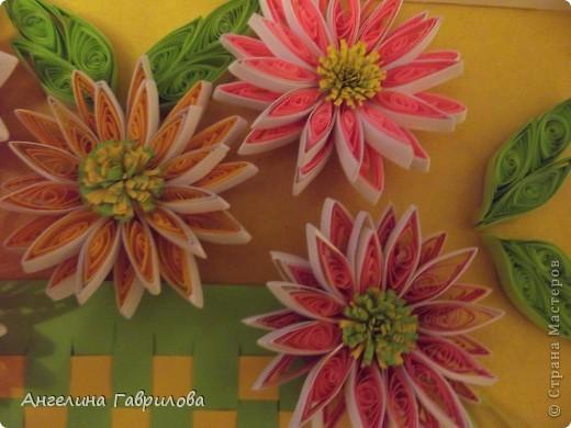 Это основной вид работы-Хризантемы в корзинке. фото 2