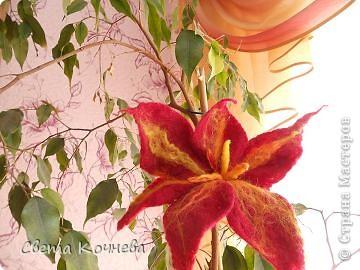 Вот такой красивый цветок Диана смастерила в нашем школьной студии. Теперь на него могут полюбоваться все! фото 2