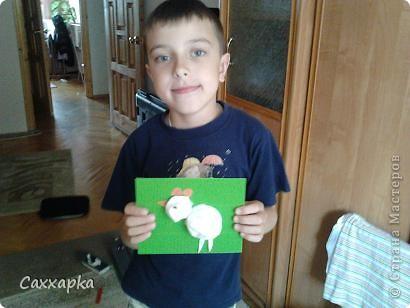 Вот такой цыплёнок сделал мой брат. Цыплёнок воздушный и он приносит в наш дом веру и любовь! фото 2