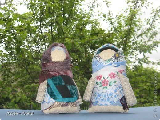 Крупеничка (или Зернушка) – это тряпичная кукла-оберег на сытость, достаток в семье и хозяйственность.   фото 1