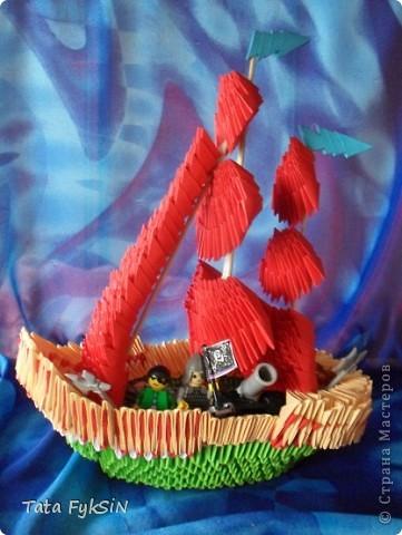 """Бриг """"El corsario descuidado """"  - Беспечный корсар фото 2"""