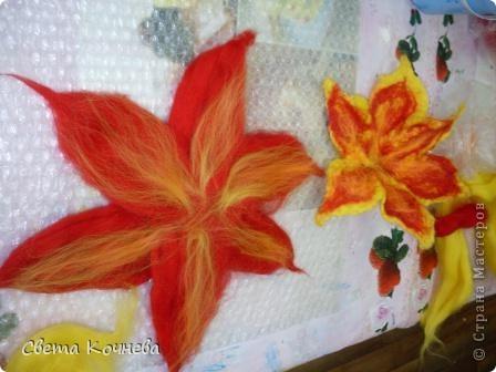 Вот такой красивый цветок Диана смастерила в нашем школьной студии. Теперь на него могут полюбоваться все! фото 3