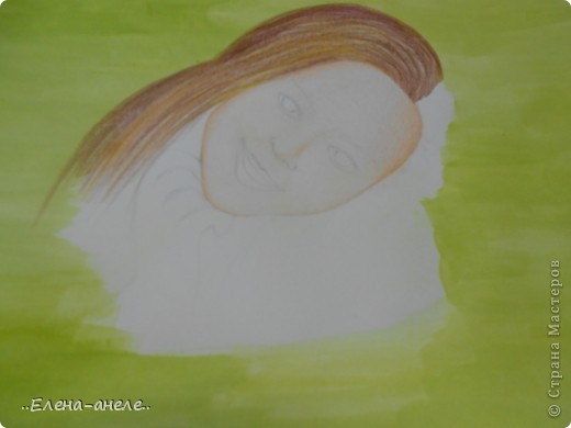 Девушка в анютиных глазках фото 2