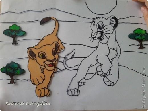 """Очень люблю мультик """"Король лев"""" поэтому решила сделать героев из этого мультика фото 7"""