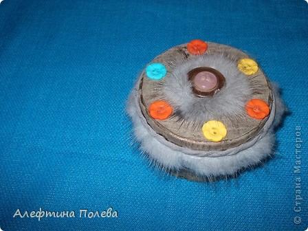 Шкатулка для пуговиц. фото 1