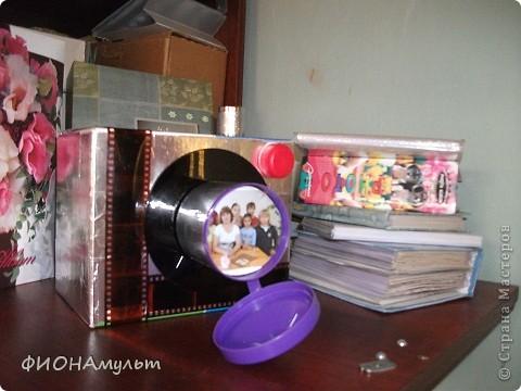 Коробка для тематических мини-альбомов.В эту декорированную коробку можно убрать альбомы с фотографиями экскурсий,торжест,походов, домашних животных ит.д. фото 3