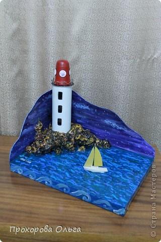Вот такой, макет маяка у меня получился.  фото 5