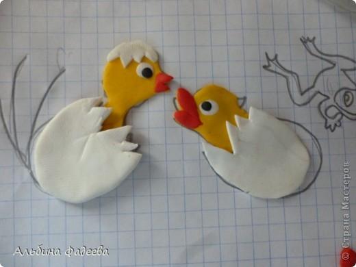"""Мне выпал день сказок Сутеева. И я решила сделать героев моей любимой сказки """"Цыпленок и утенок"""". фото 4"""