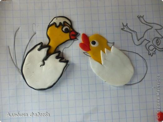 """Мне выпал день сказок Сутеева. И я решила сделать героев моей любимой сказки """"Цыпленок и утенок"""". фото 5"""