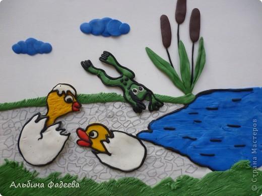 """Мне выпал день сказок Сутеева. И я решила сделать героев моей любимой сказки """"Цыпленок и утенок"""". фото 1"""