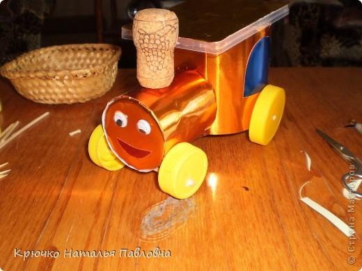 Вот такой веселый товарный поезд получился. фото 5