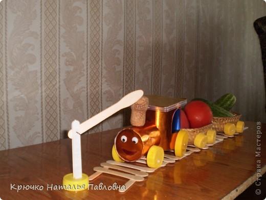 Вот такой веселый товарный поезд получился. фото 1