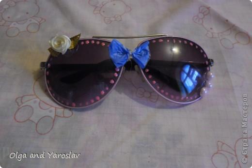 Эти очки я не ношу давно,но как только я узнала о конкурсе сразу же начала приводить их в порядок-и,вот что получилось! фото 1