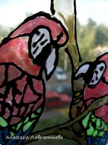 """Цветные витражи в кафе курящем – Иллюзия счастливого мирка. А что за ними в мире настоящем? Унылая осенняя тоска… Цветные витражи – обман красивый, Прекрасный сад, где нету перемен. Но привыкает глаз к цветному диву. И вновь туда, где множество проблем. Цветные витражи… А что за ними? Дождь перестал. И день вошёл в кураж. На небе радуга повисла дивно – Природы щедрой радостный витраж.  Литературно-художественный блог """"Яника""""  фото 2"""