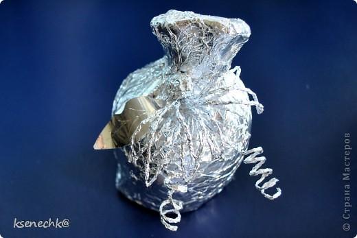 """вот так я упаковала подарок-копилку с надписью """"Заначка от жены"""" для своего любимого мужа-металлурга фото 1"""