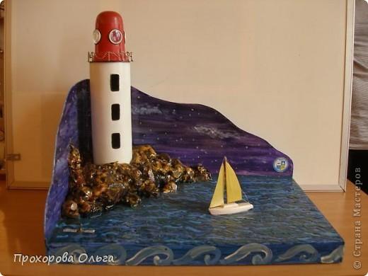 Вот такой, макет маяка у меня получился.  фото 6