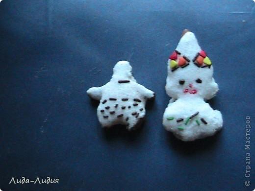 Вкусненькие сказочные персонажи: некто в широчайших штанах и маленькая девочка-снежинка фото 1