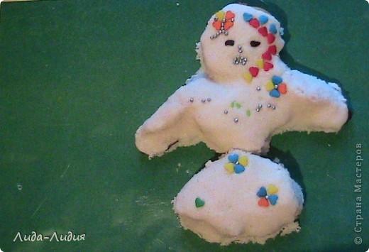 Вкусненькие сказочные персонажи: некто в широчайших штанах и маленькая девочка-снежинка фото 2