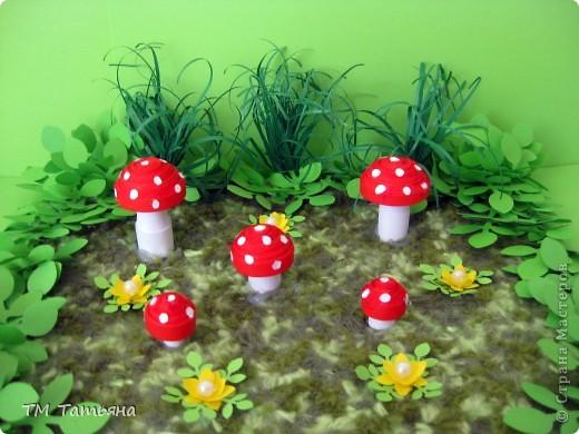 Поделки в детский сад грибы своими руками