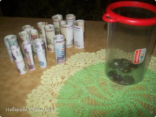 """Деньги, иногда называют """" капустой"""". Мне пришла в голову вот такая идея, которую я постаралась воплотить. фото 7"""