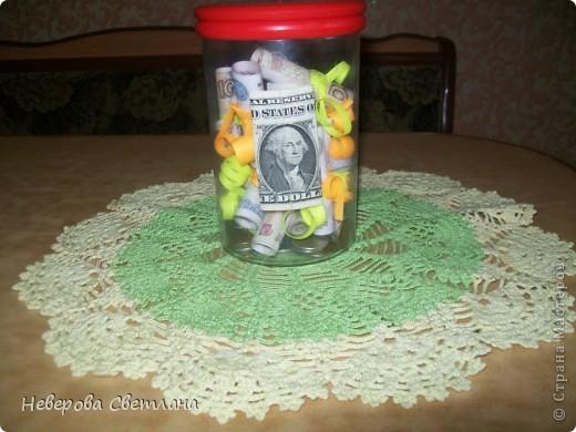 """Деньги, иногда называют """" капустой"""". Мне пришла в голову вот такая идея, которую я постаралась воплотить. фото 1"""