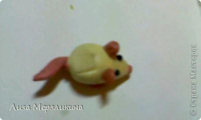 Мышь из пластелина фото 3