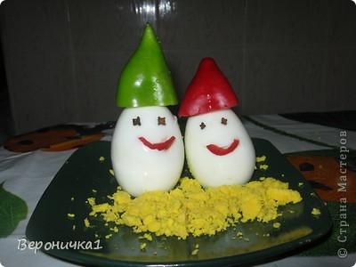 Мои маленькие яичные гномики. фото 3