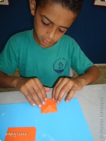 Наша Буренка приветствует всех,любящих оригами также,как любим его мы!!!!!!!!! фото 3