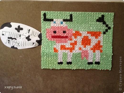 Наша Буренка приветствует всех,любящих оригами также,как любим его мы!!!!!!!!! фото 5