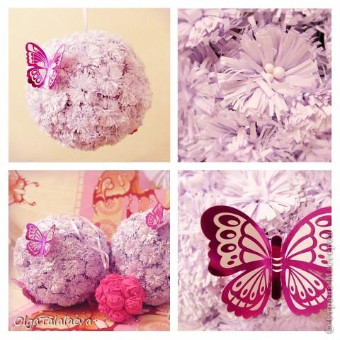 Бумажные гирлянды и шары потрясающее украшение к любому празднику. Такая красота всего лишь из листов бумаги создаст настроение в любой комнате. фото 3