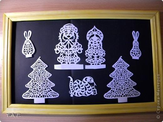 Зимой дед Мороз разрисовывает окна неповторимыми узорами. Рассматривая художества Мороза кого и чего только там не увидишь? Там и звезды и деревья и да же разные причудливые животные. Воспользовавшись схемами Зульфии Дадашовой https://stranamasterov.ru/node/104828 , фото 2