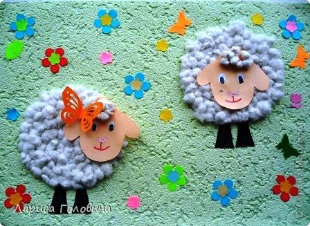 Добрые овечки, Мягкие сердечки, Сняли свою шёрстку, Мягкую, не жёсткую. Будет много пряжи – Свитеров навяжем! Ж. Асс. фото 1