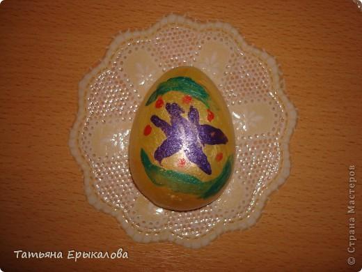 Вместе в воспитанниками мы организовали выставку пасхальных яйц. фото 6