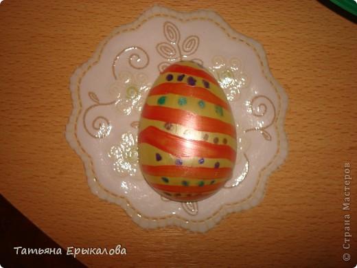 Вместе в воспитанниками мы организовали выставку пасхальных яйц. фото 7