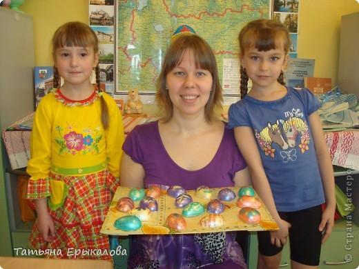 Вместе в воспитанниками мы организовали выставку пасхальных яйц. фото 8