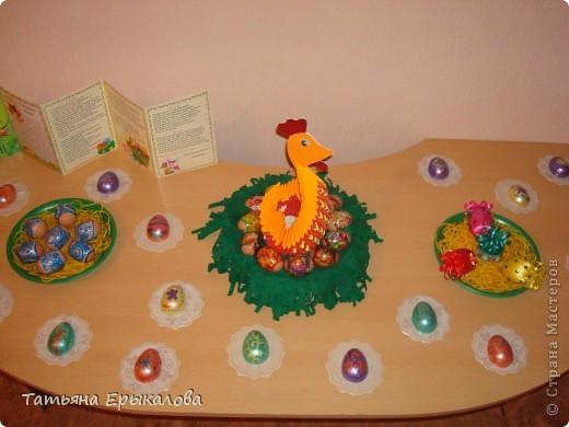 Вместе в воспитанниками мы организовали выставку пасхальных яйц. фото 9