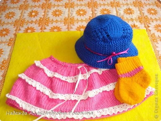 Модница готова. Обязательный атрибут - шляпка, подчёркнута тонкая талия.  фото 4