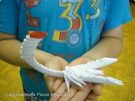 Такого скорпиона сделал Владик в школьном лагере. фото 3