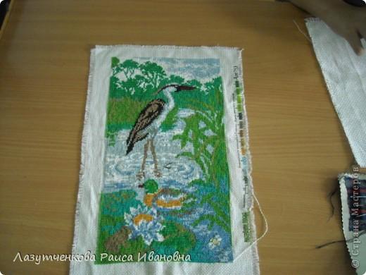 А вот Римма у нас  большая любительница вышивки крестиком. фото 5