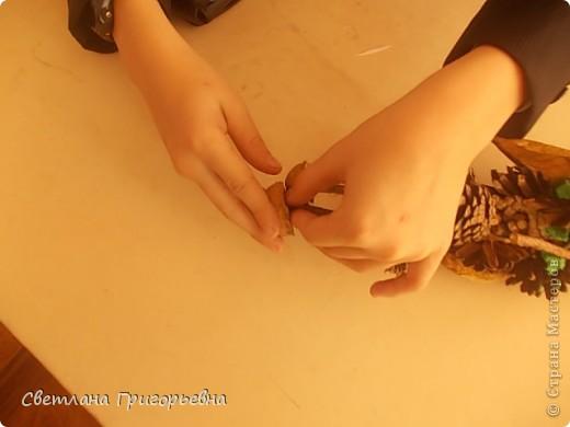 Вот такой Леший получился у Вани, к сожалению, сфотографировали дети работу вертикально. фото 5