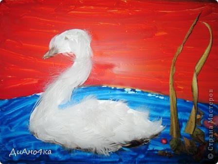 Повелось так с самой древности:  Эти птицы – символ верности.  Белый лебедь, лебедь чистый, Сны твои всегда безмолвны, Безмятежно-серебристый, Ты скользишь, рождая волны.  http://www.newacropol.ru/Alexandria/symbols/swan/  фото 1