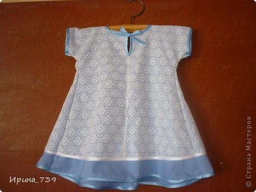 Платье для крестницы на крестины. На уроке технологии изучали пошив ночной сорочки. Алина решила сшить платье для своей маленькой крестницы платье на крестины.  Построила чертеж, выполнила моделирование, подобрала ткань... Вот что получилось. Думаю, очень даже не плохо! фото 3