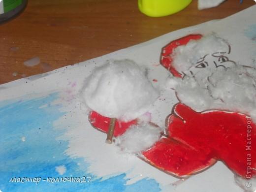 Вот Дедушка Мороз с сладкой....ватой! фото 5
