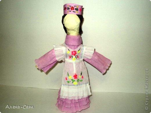 Татарский астраханский костюм молодой девушки фото 4